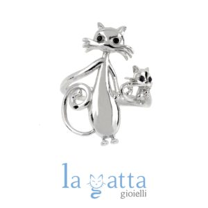 ANELLO GATTO – LA GATTA MAMMONA