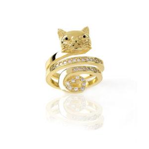 ANELLO GATTO – LA GATTA ANELLO I LOVE CATS (2)